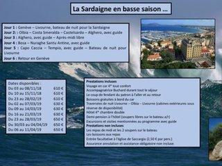 La Sardaigne en basse saison