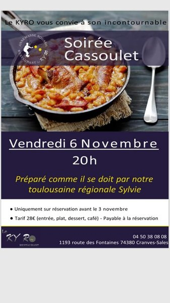 Evenement Restaurant Le Kyro
